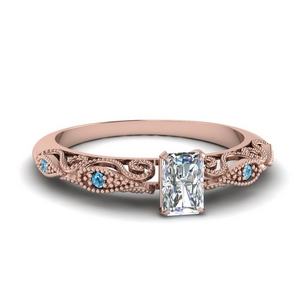 paisley radiant diamond engagement ring with blue topaz in FD69805RARGICBLTO NL RG.jpg