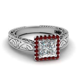 Vintage Ruby Ring For Women
