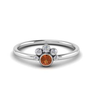 unusual-orange-sapphire-bezel-set-engagement-ring-in-FD72035RORGOS-NL-WG