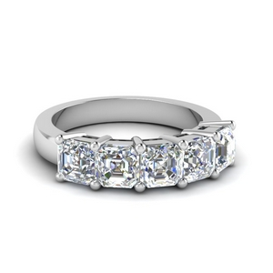 Platinum 2.50 Carat Diamond Wedding Band