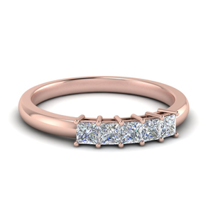 Princess Diamond Anniversary Band