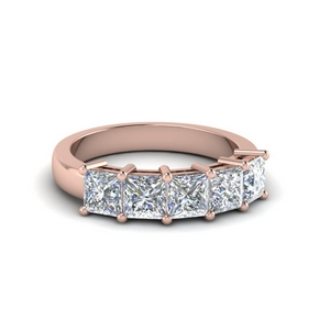 14K Rose Gold 1.5 Ct.Diamond Ring