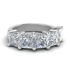 5 Carat Women Wedding Band