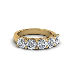 1 Ct. Round Diamond Anniversary Band