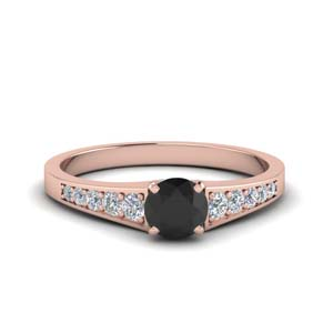 Pave Black Diamond Wedding Ring