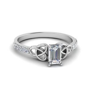 Emerald Cut 0.50 Ctw. Diamond Ring