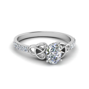 Celtic Diamond Fancy Ring