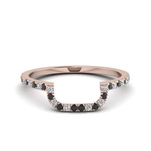 Black Diamond Curved Band