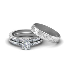 Wedding Set For His And Her