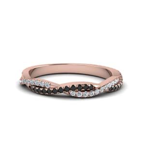 Black Diamond Twisted Band