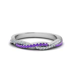 Vine Purple Topaz Band