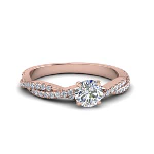 Perfect Match(Twisted Vine Diamond Band)