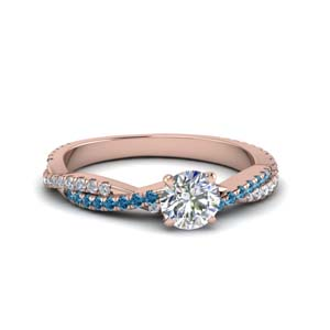 Perfect Match(Gemstone Twist Wedding Band)