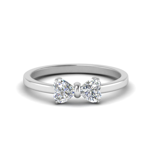Two Heart Promise Ring