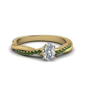 Emerald Engagement Ring 2 Ct.