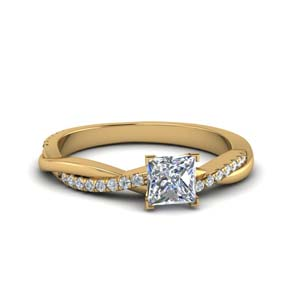 0.90 Carat Classic Vine Engagement Ring