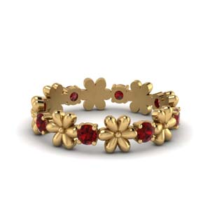 Ruby Flower Band