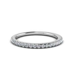 0.25 Ct. Diamond U Prong Wedding Band