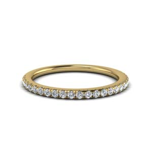 Perfect Match(U Prong Diamond Wedding Ring Set)