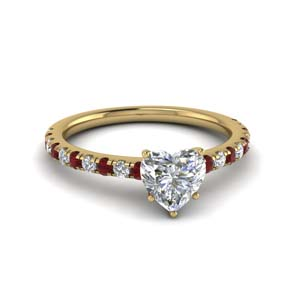 Delicate Ring With Ruby