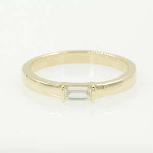 Baguette Wedding Ring For Male