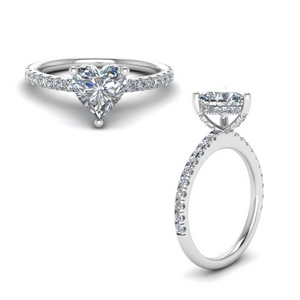 Diamond Prong Petite Ring
