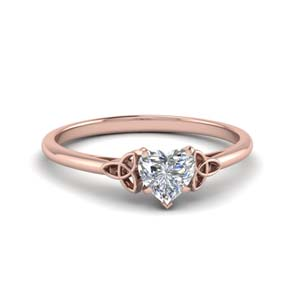 Celtic Solitaire Ring