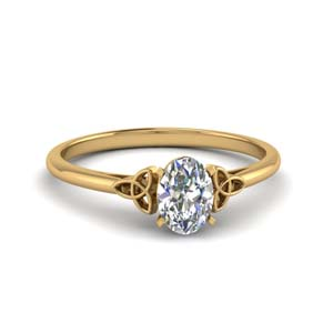0.50 Ct. Celtic Diamond Ring