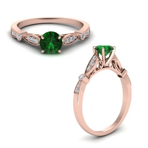 Classic Emerald Vintage Ring