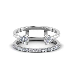 Modern Cuff Diamond Wedding Band