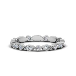 0.35 Ct. Art Deco Eternity Band