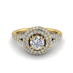 Petite Pave Lab Grown Diamond Ring