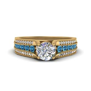3-row-diamond-milgrain-engagement-ring-with-blue-topaz-in-FD8680RORGICBLTO-NL-YG