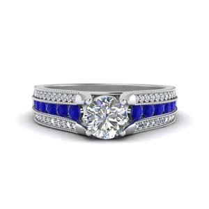 3-row-diamond-milgrain-engagement-ring-with-sapphire-in-FD8680RORGSABL-NL-WG