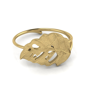 Leaf Gold Ring