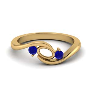 Semi Mount 3 Stone Ring