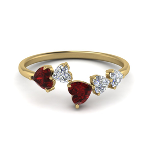 1.10-ct.-ruby-heart-cut-5-stone-diamond-anniversary-ring-in-FD8910GRUDR-NL-YG