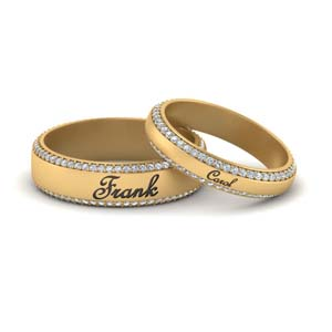 Couples Wedding Band