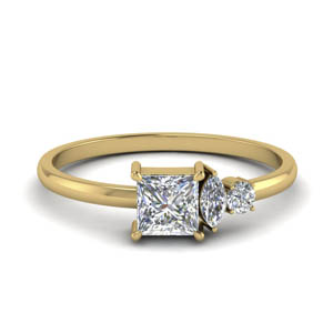 18K Yellow Gold Petite Ring