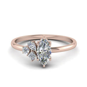 Non Traditional Diamond Ring