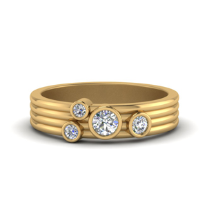 Gold Wedding Bands For Women