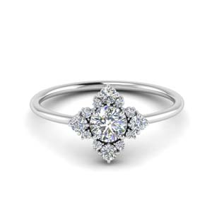 art-deco-diamond cluster-engagement-ring-in-FD9103RO-NL-WG