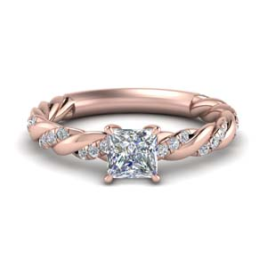 1.15 Ct. Rope Twisted Wedding Ring