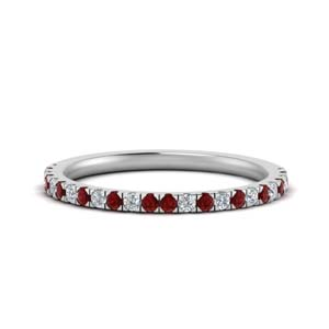 Ruby Custom Wedding Band