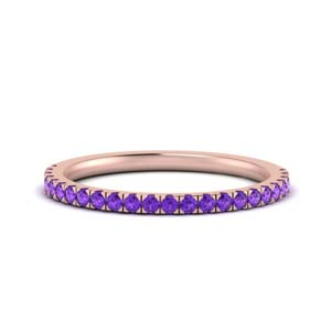 Simple Purple Topaz Band