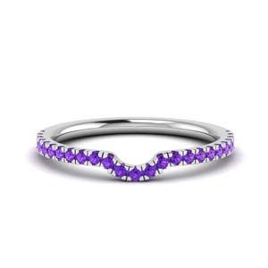Contour Purple Topaz Band