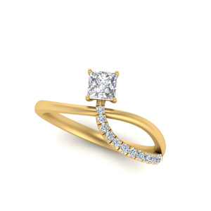 Princess Cut Ring One Carat