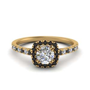 French Pave Man Made Diamond Ring