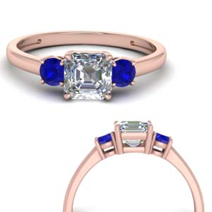 basket-3-stone-asscher-cut-engagement-ring-with-sapphire-in-FD9166ASRGSABLANGLE3-NL-RG