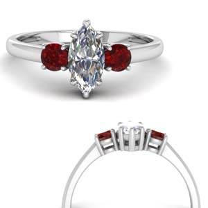 Marquise Cut Rings